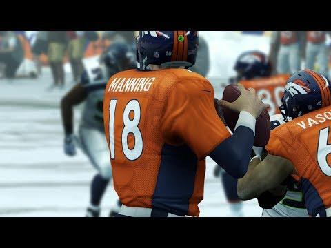 Madden 25 Online Highlight Reel #10 - Winter Wonderland Edition | Manning Throws TDs in the Snow