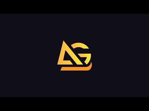 illustrator tutorial   AG logo design in adobe illustrator cc 2017
