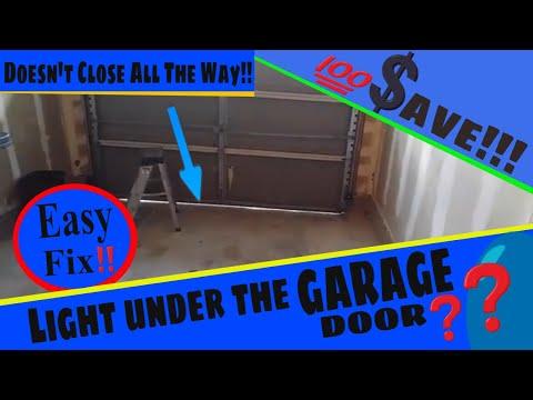 🆕Gap Under the Garage Door | How to Adjust a Genie Screw Drive
