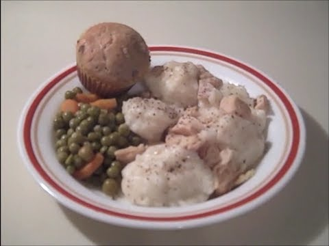 Chicken and Dumplings from Food Storage