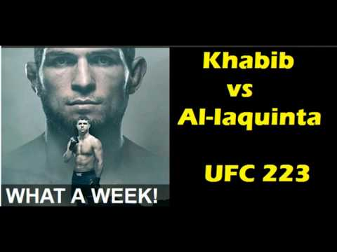 Khabib vs Al Iaquinta at UFC 223 | Experts React