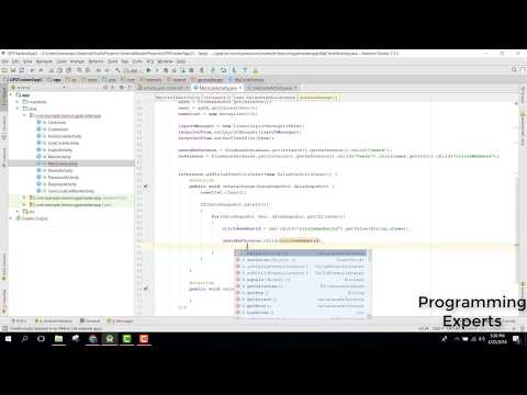 Real time Family GPS Tracker App (Firebase) in Android Studio PART 28