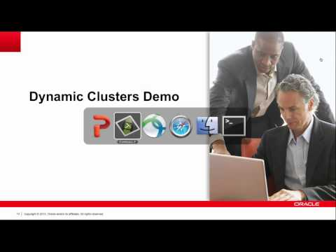 Simplicity and Elasticity with WebLogic 12.1.2 Dynamic Clusters