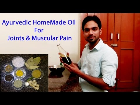 Ayurvedic Oil For Joints & Muscular pain By G Krishna Chauhan