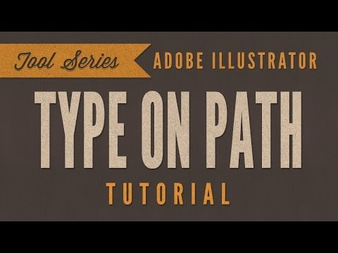 Illustrator CC - Type On A Path