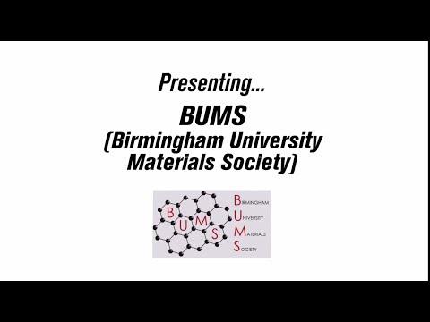 Society Vlog - BUMS - Birmingham University Materials Society