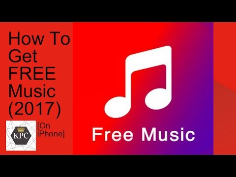 How To Get FREE Music on iPhone (2017) (NO Jailbreak)