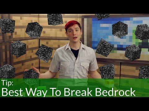 BEST Way To Break Bedrock in Minecraft (1.8.1)