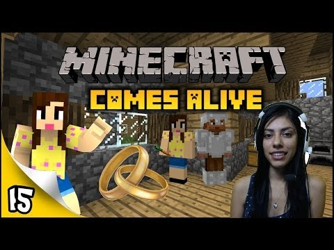 Minecraft Comes Alive - Ep 15 - I'm Married!