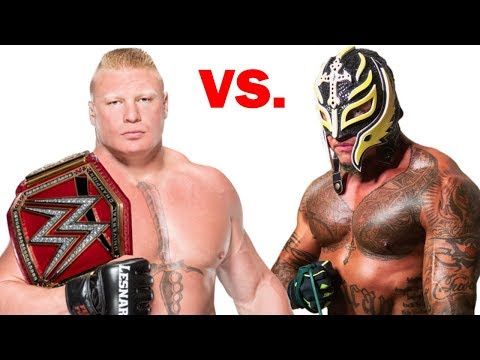 5 Rey Mysterio Future WWE Matches in 2018?