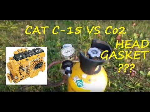 The Final Test!!BLOWN HEAD GASKET!!!C-15 6NZ Vs Co2