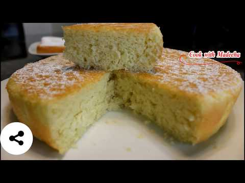 How To Make Sponge Cake In Pressure Cooker    4 Ingredients Soft Spong Cake Recipe Without Oven