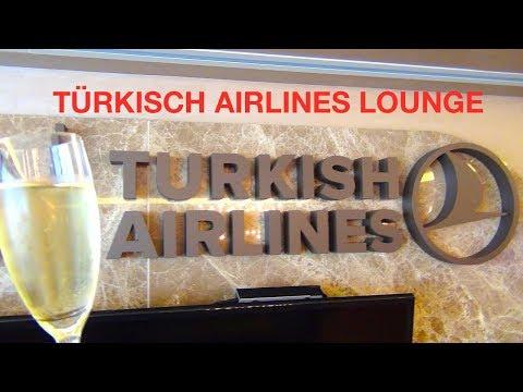 Turkish Airlines Lounge | GOLD STAR ALLIANCE IAD | Arabisches Flair | 1001 Nacht