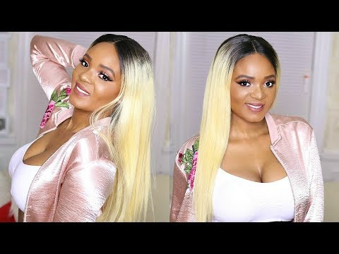NEW LOOK! PERFECT BLONDE WIG FOR MEDIUM/ DARKSKIN FT. ALIPEARL HAIR | OMABELLETV