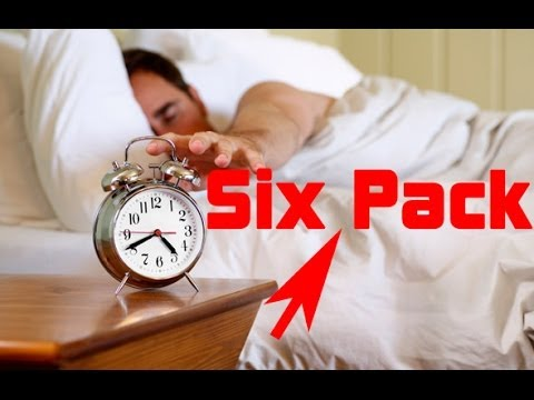 How to Get a Six Pack IN BED! (try this out)