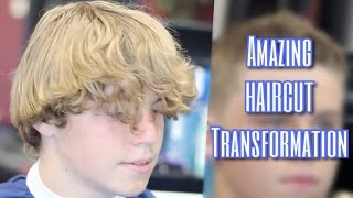 AMAZING HAIRCUT TRANSFORMATION FOHAWK