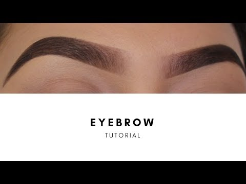 HOW I FILL IN MY EYEBROWS | EYEBROW TUTORIAL