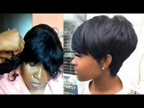 HOW I MADE THIS HAIR AT HOME VERY EASY