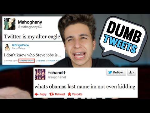 The Dumbest Tweets...