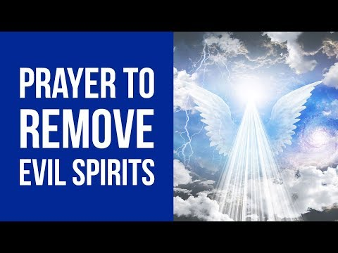 How to ward off bad spirits -