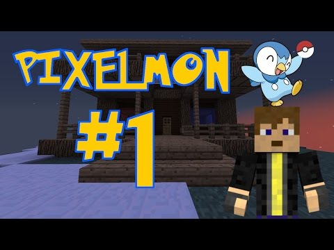 Pixelmon Server Series #1-House Building!