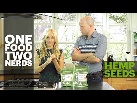 Hemp Seeds: Health Benefits + Hemp Smoothie Healthy Eating Recipe - One Food, Two Nerds