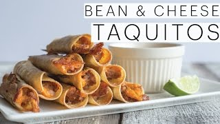Baked Taquitos With Creamy Salsa And Guacamole | Best Super Bowl Snacks | The Edgy Veg