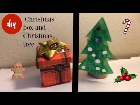DIY Christmas tree and gift box