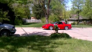 lt1 burnout at home(old motor)