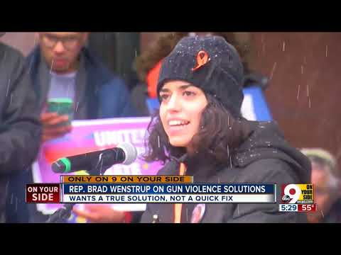Rep. Brad Wenstrup on solutions to gun violence