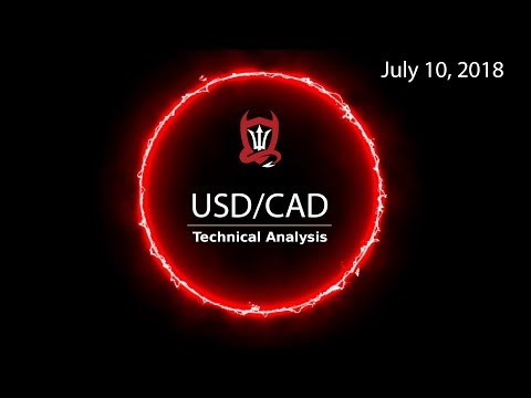 Canadian Dollar Technical Analysis (USD/CAD) : Can You Take It..?  [07/10/2018]