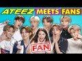 K-Pop Fans React To And MEET K-Pop Stars (ATEEZ 에이티즈)