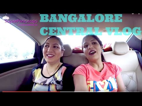 India Bangalore Vlog Shopping & Movie Outing Central Mall | SuperPrincessjo