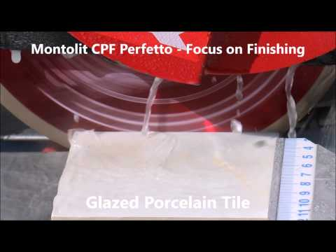 Perfect finishing cutting hard porcelain tiles, glass tiles and natural stone