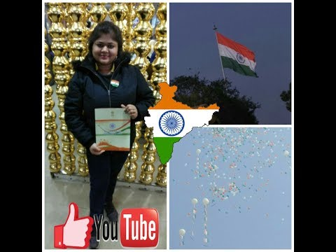 26 jan 2018 @ Rajpath Live, proud moment, Republic day celebration in India,  Delhi live