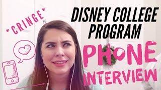 Full Phone Interview | Disney College Program