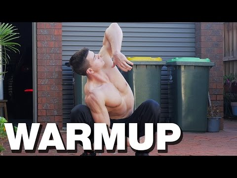 How to WARM UP (Upper Body)