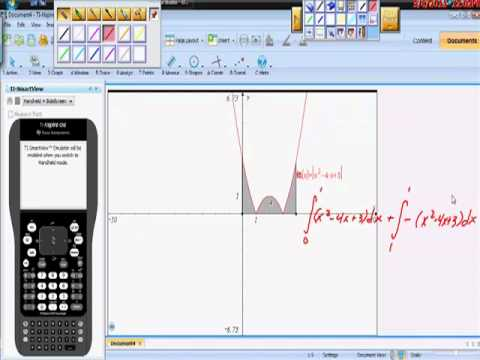 FTC Definite Integral of an Absolute Value Function