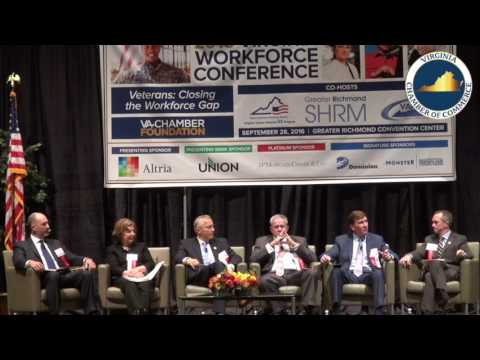 2016 Virginia Workforce Conference - WHY HIRING VETERANS IS RIGHT FOR YOUR COMPANY