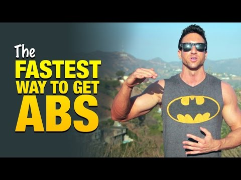 Fastest Way To Get Abs: 5-Part Blueprint Shows How To Burn Fat Fast