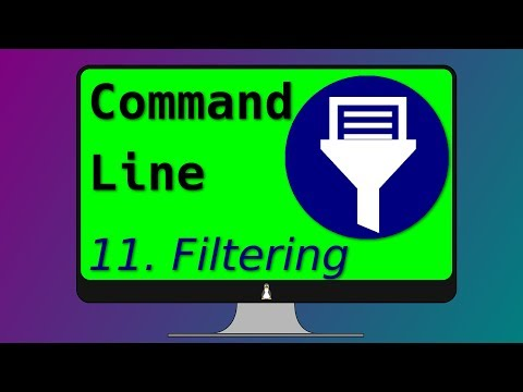 11. Linux filtering commands