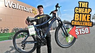 THE $150 CHEAP BIKE CHALLENGE - WILL IT LAST?