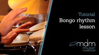 Bongo Rhythm Lesson By Michael De Miranda