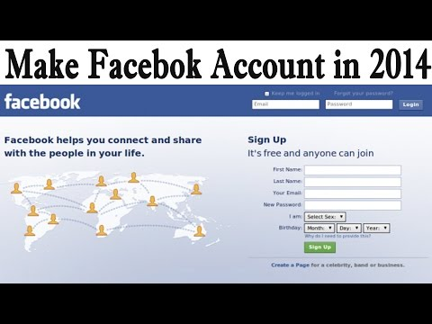 How to Make Facebook Account (Facebook ID) Step By Step in 2014