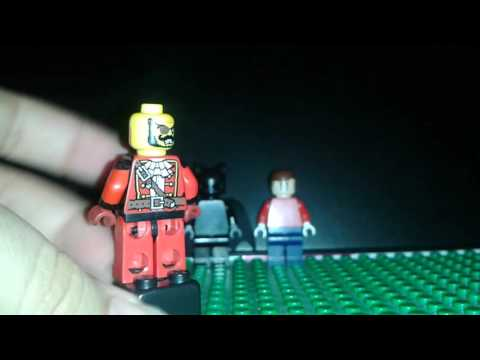 How to make lego Spiderman first suit and deadpool
