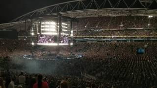 100000 Adele Fans Sing Someone Like You Live At Anz Stadium Sydney Australia World Tour 2017