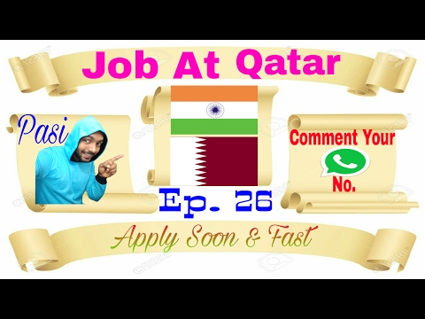 New Job At Qatar For freshers any one can apply, Best Job Recruiting Agency In India 14/02/2017