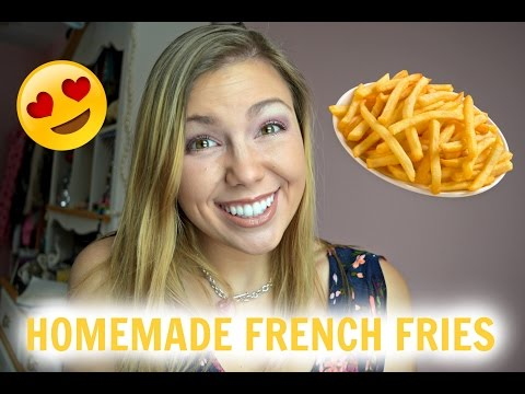 Healthy Homemade French Fries Recipe!
