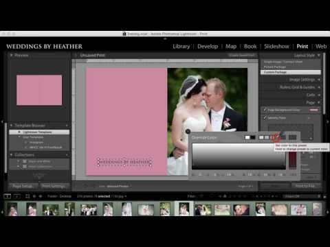 Lightroom Tutorial - Creating a Collage in the Print Module