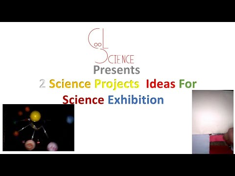 2 science project ideas for science exhibition.